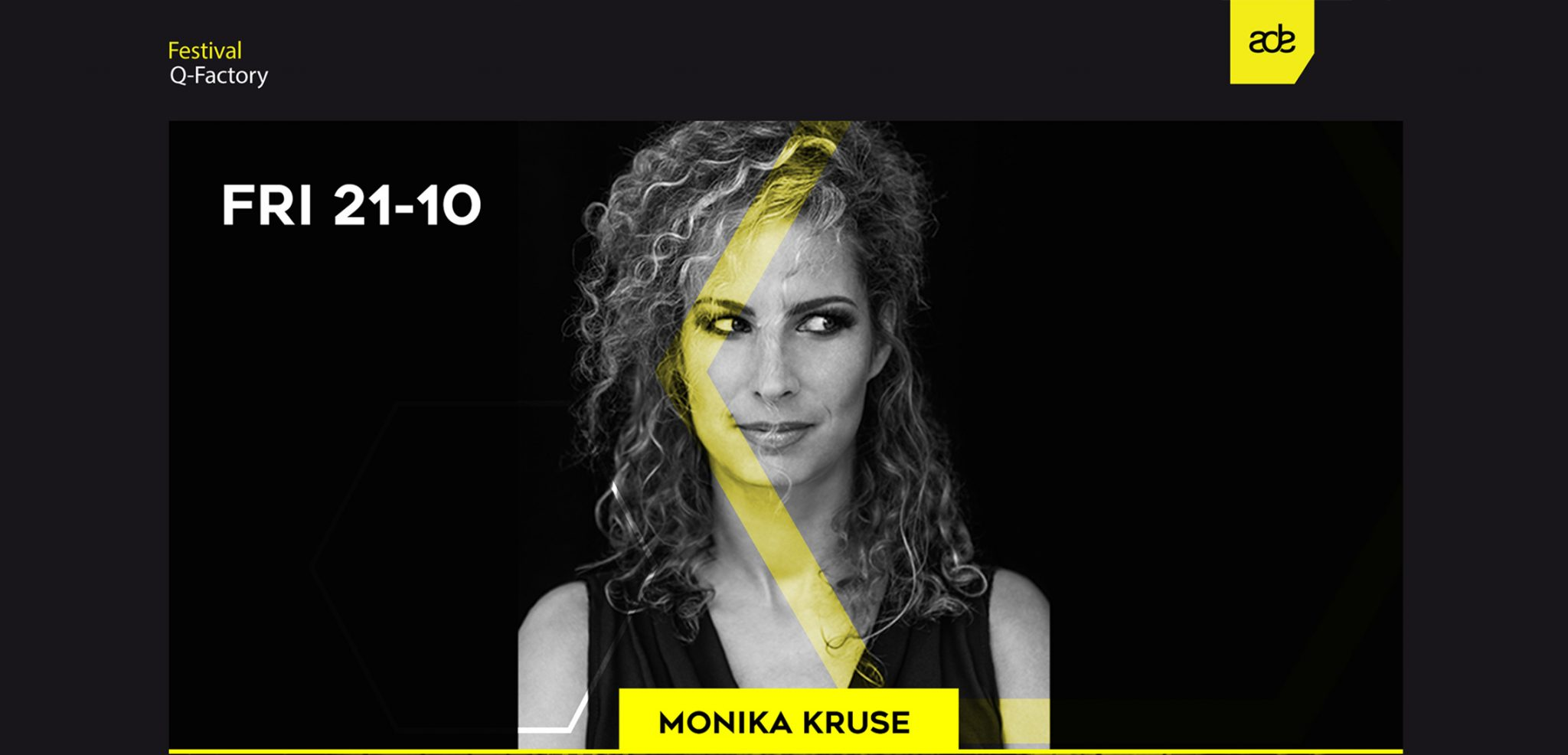 Monika Kruse brings Terminal M label party back to ADE in collaboration with Tronic