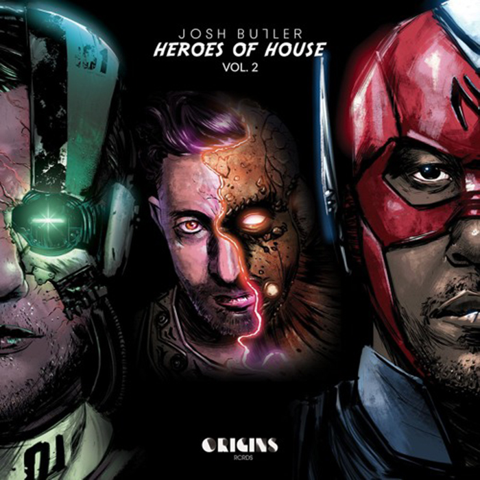 Josh Butler Presents Heroes of House (Vol. 2) cover