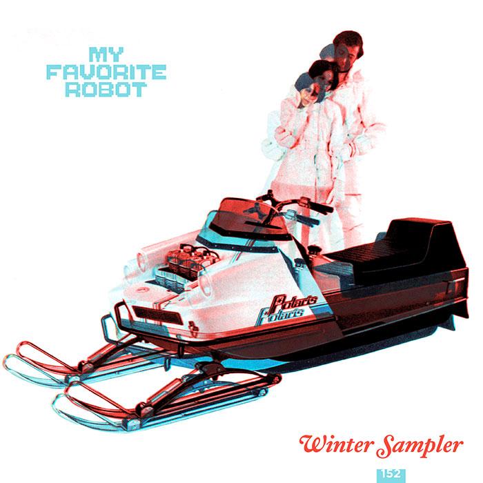 VA - My Favorite Robot Winter Sampler 2017 cover
