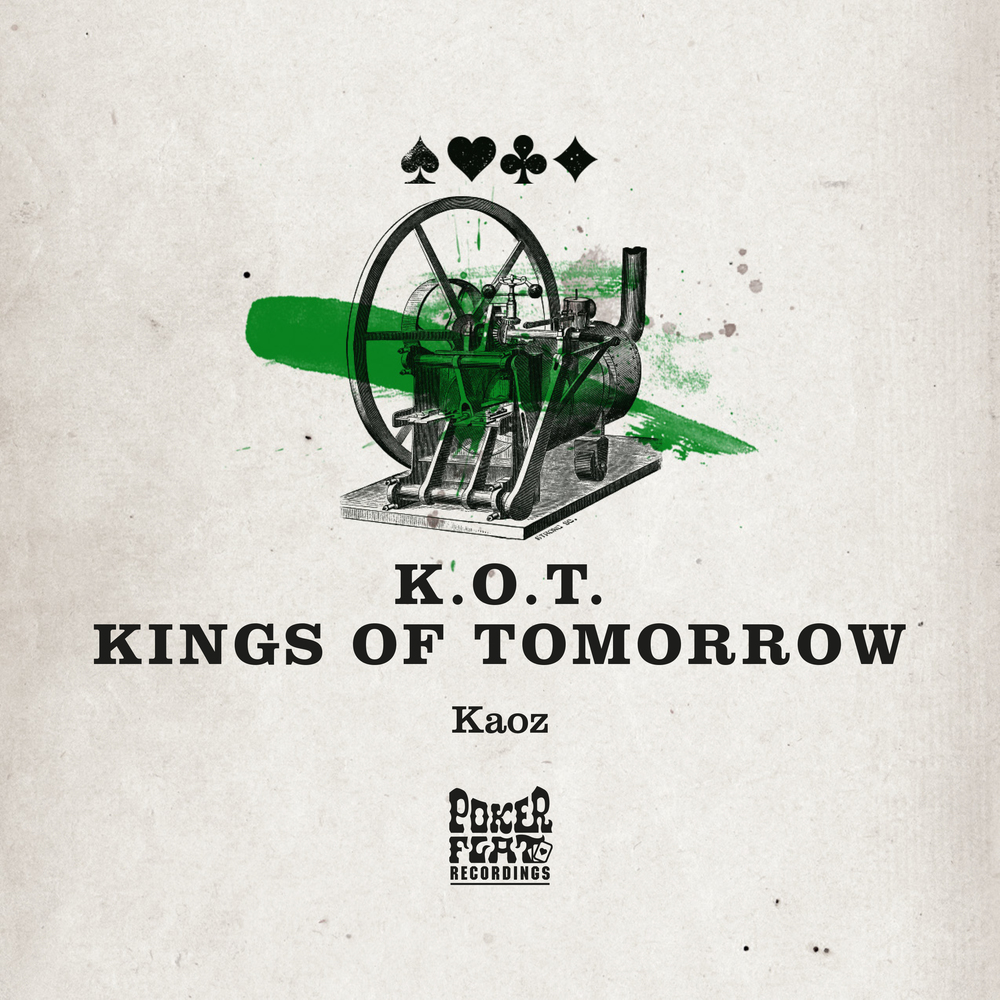 Kings of Tomorrow - Kaoz EP cover