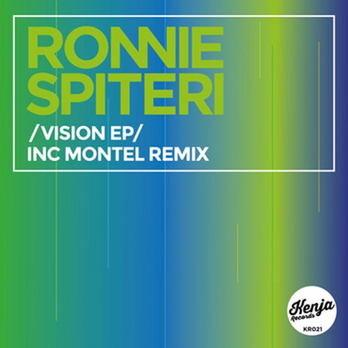 Ronnie Spiteri - Vision EP cover