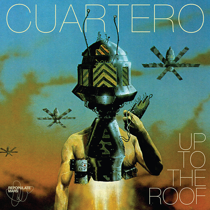 Cuartero - Up To The Roof EP cover
