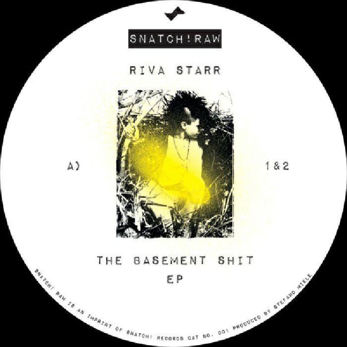 Riva Starr - The Basement Shit cover