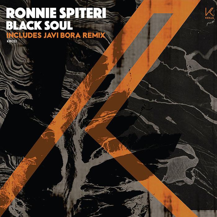 Ronnie Spiteri - Black Soul EP cover