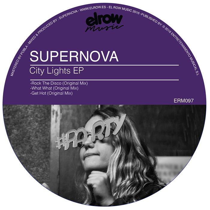 Supernova - City Lights EP cover