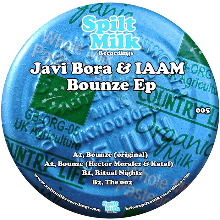 Javi Bora & IAAM - Bounze EP cover