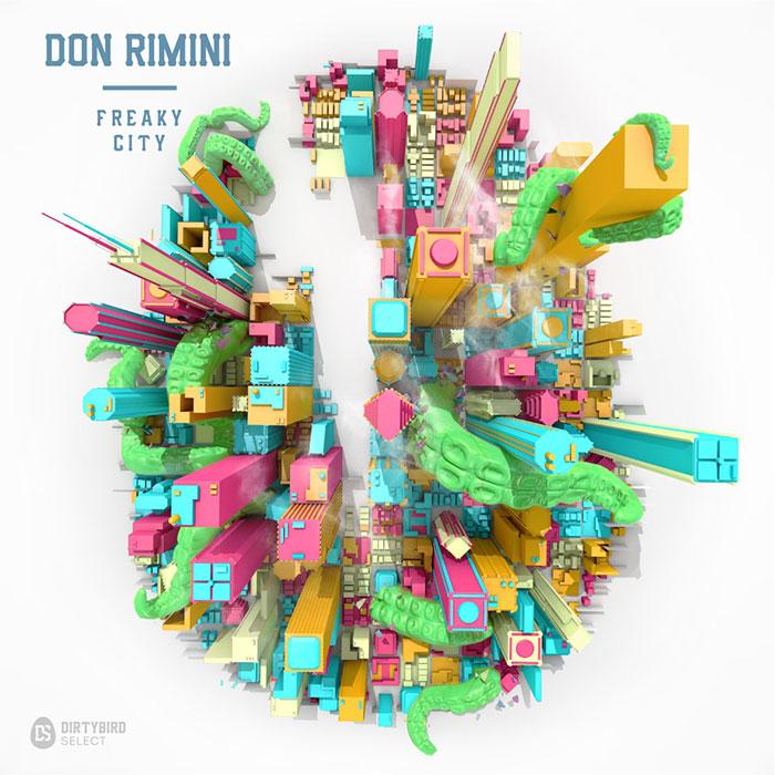 Don Rimini - Freaky City EP cover