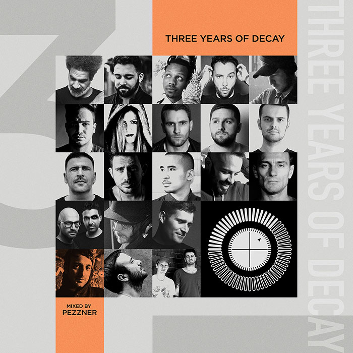 Three Years of Decay Mixed by Pezzner cover
