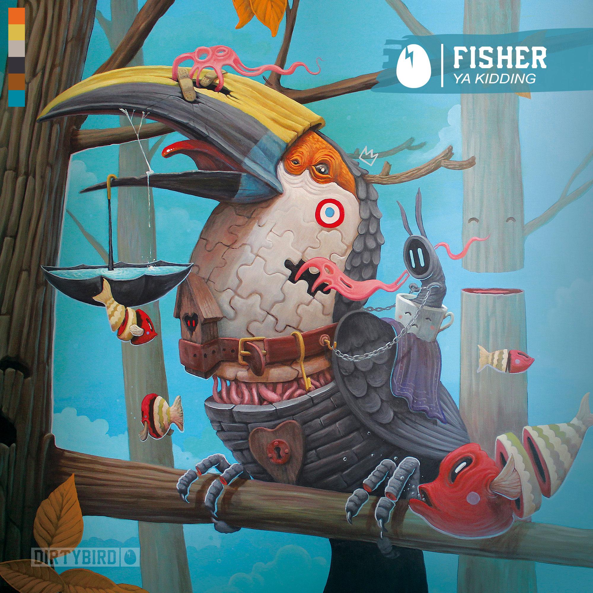 FISHER - Ya Kidding' cover
