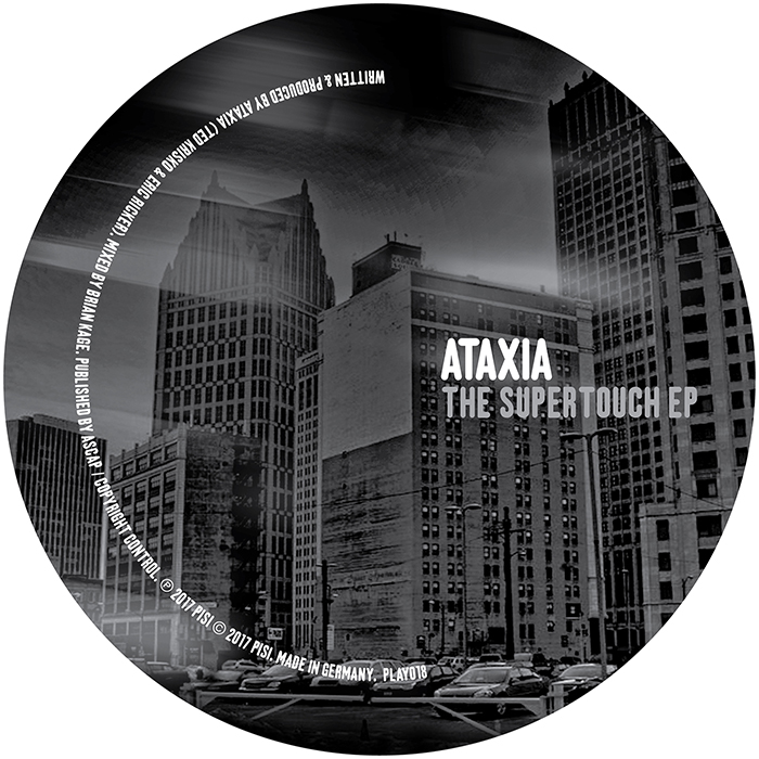 Ataxia - The Supertouch EP cover