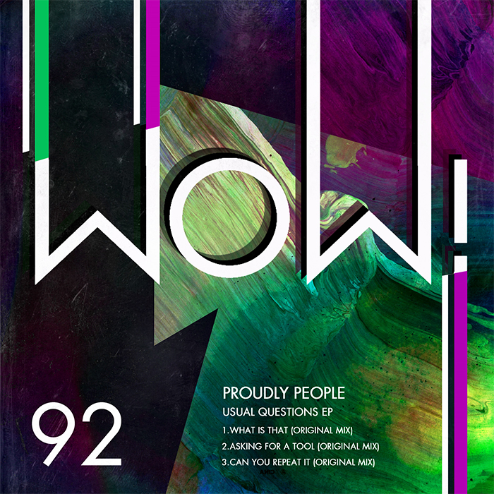 Proudly People - Usual Questions EP cover