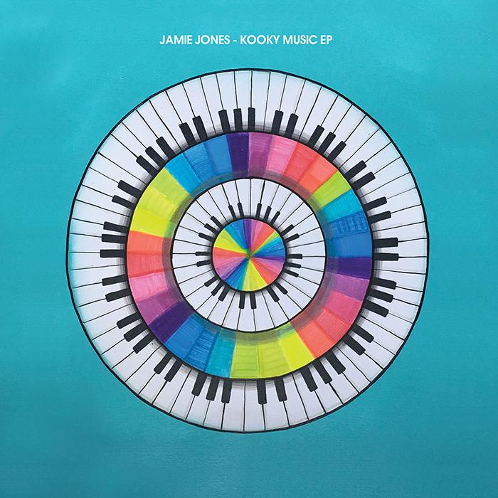 Jamie Jones - Kooky Music EP cover