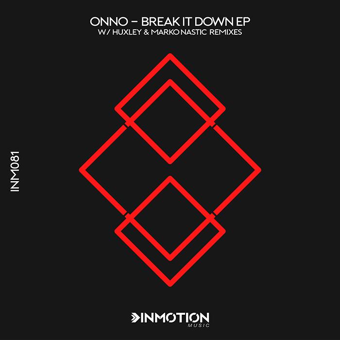 ONNO - Break It Down EP cover