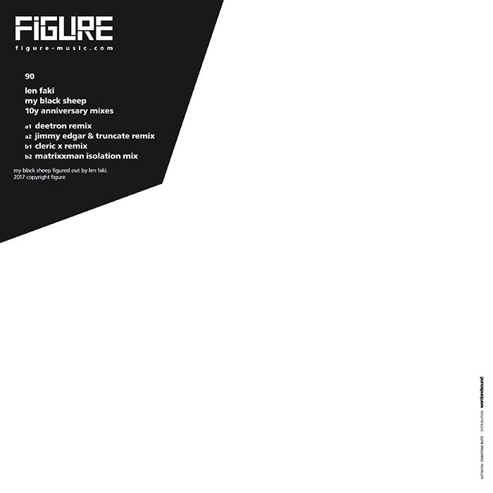 Len Faki - My Black Sheep 10Y Anniversary Mixes cover