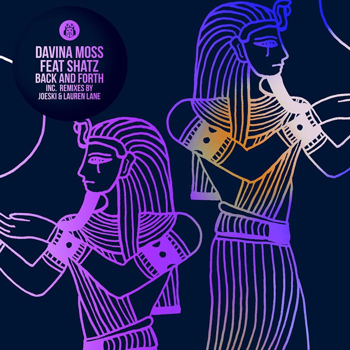 Davina Moss feat. ShatZ - Back & Forth EP cover