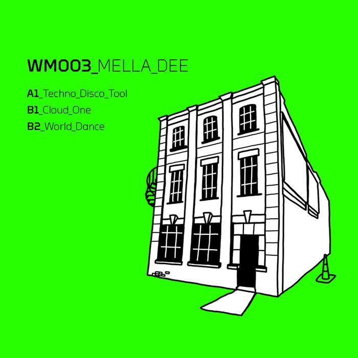 Mella Dee - Techno Disco Tool EP cover