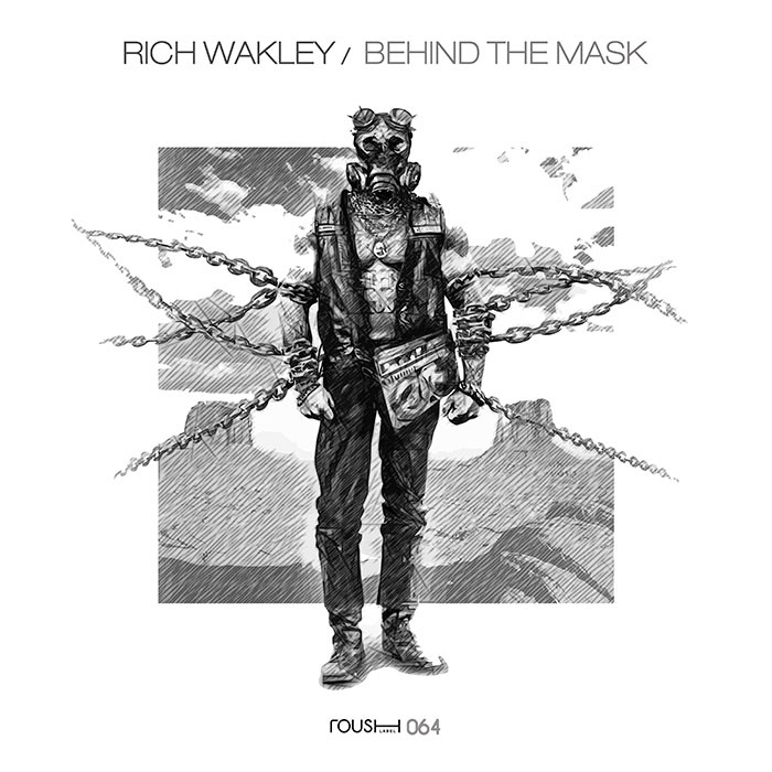 Rich Wakley - Behind The Mask cover