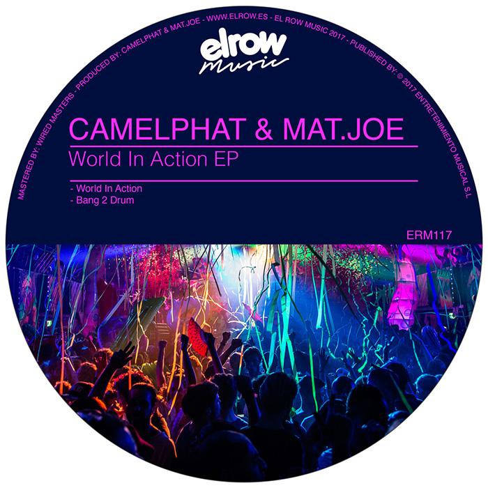Mat.Joe & CamelPhat - Bang 2 Drum EP cover