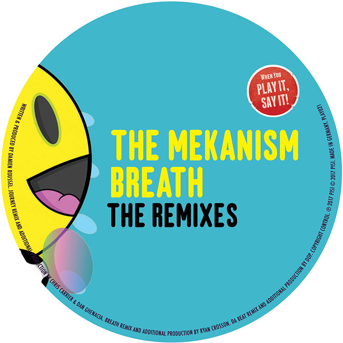 The Mekanism - Breath The Remixes cover