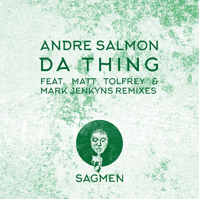Andre Salmon - Da Thing EP cover