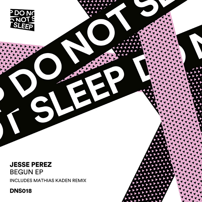 Jesse Perez - Begun EP cover