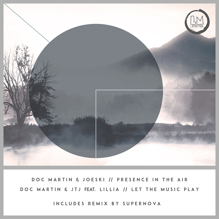 Doc Martin, Joeski, JTJ - Presence in The Air EP cover