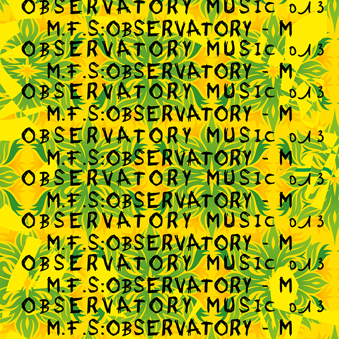 M.F.S: Observatory - M cover