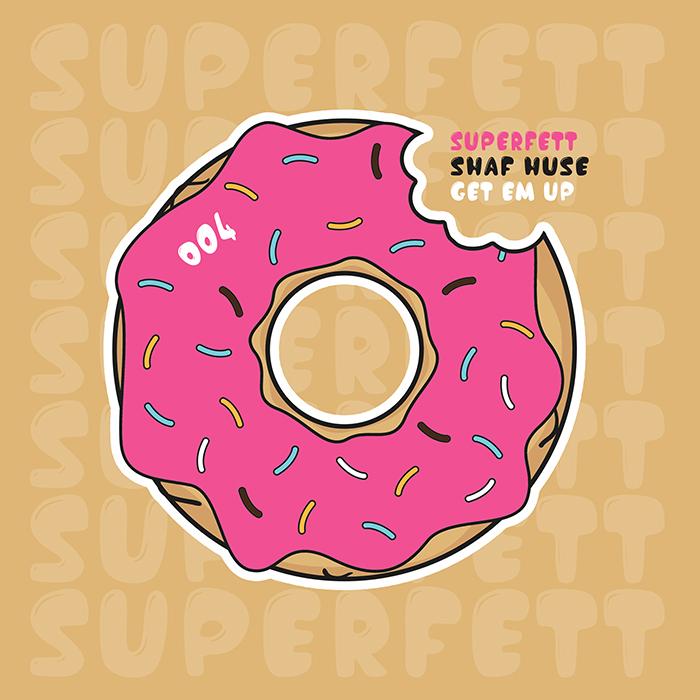 Shaf Huse - Get Em Up cover