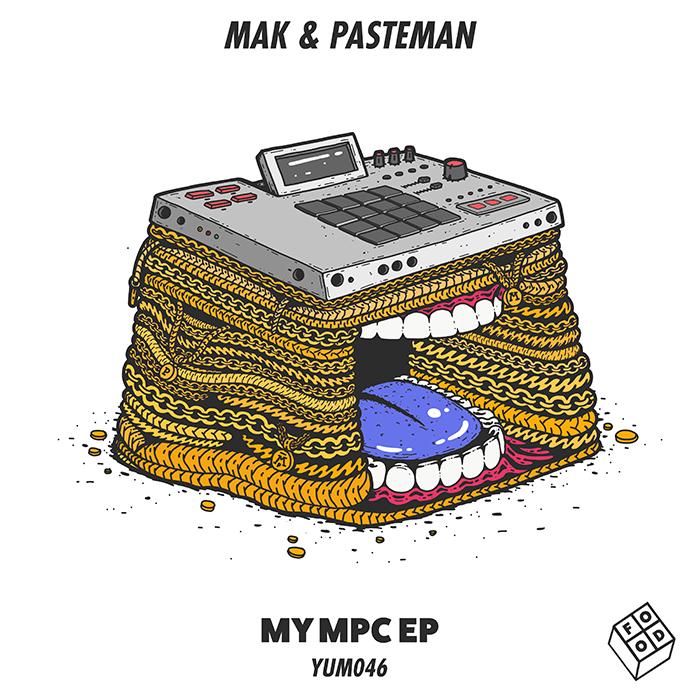 Mak & Pasteman - My MPC EP cover