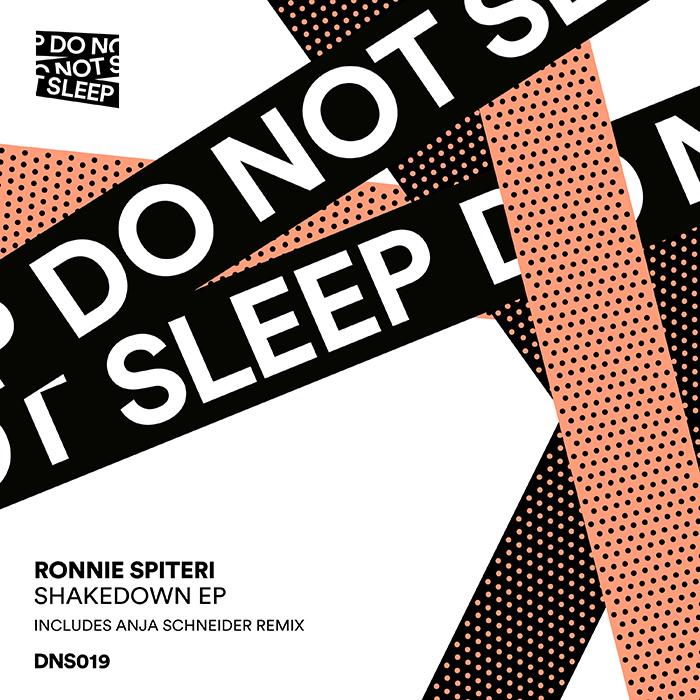 Ronnie Spiteri - Shakedown EP cover