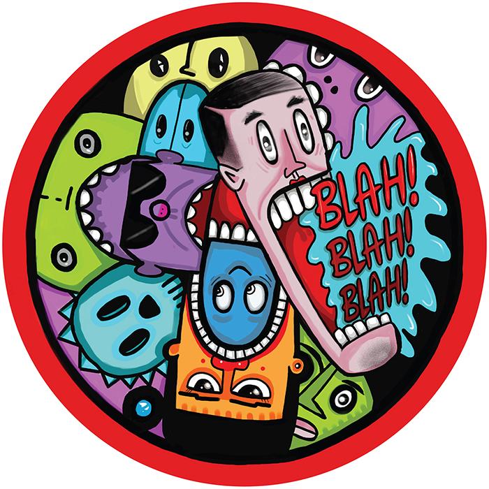 Kevin Knapp - Blah Blah Blah EP cover
