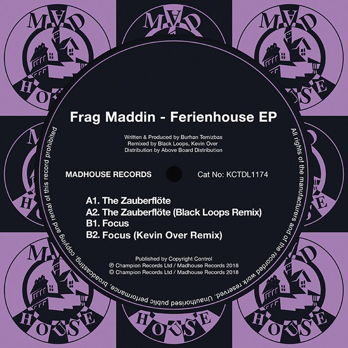 Frag Maddin - Ferienhouse EP cover