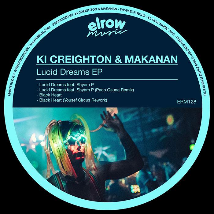 Ki Creighton & Makanan - Lucid Dreams EP cover