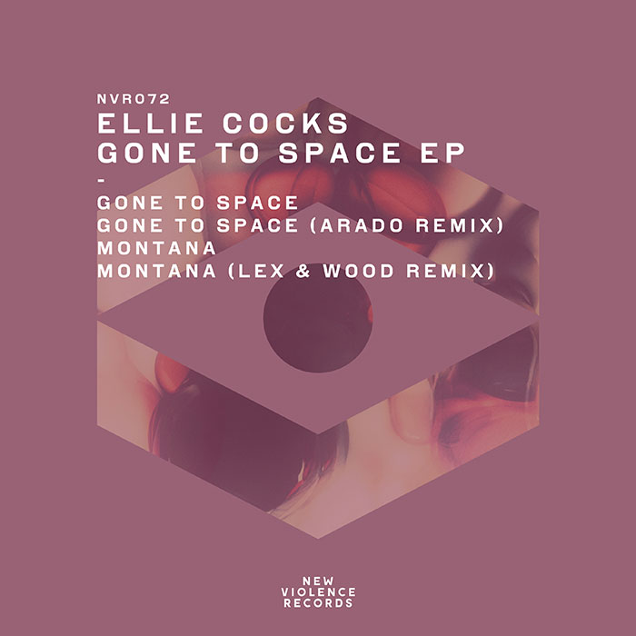 Ellie Cocks - Gone To Space EP cover