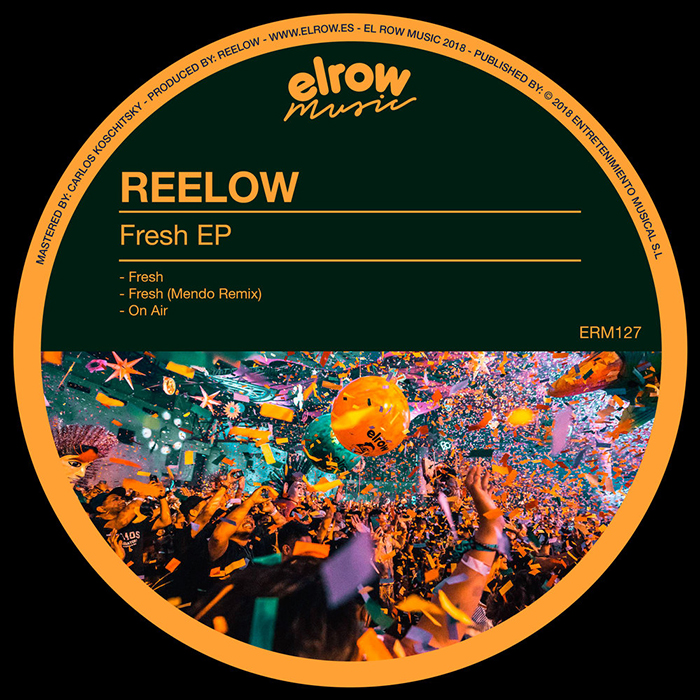 Reelow - Fresh EP cover