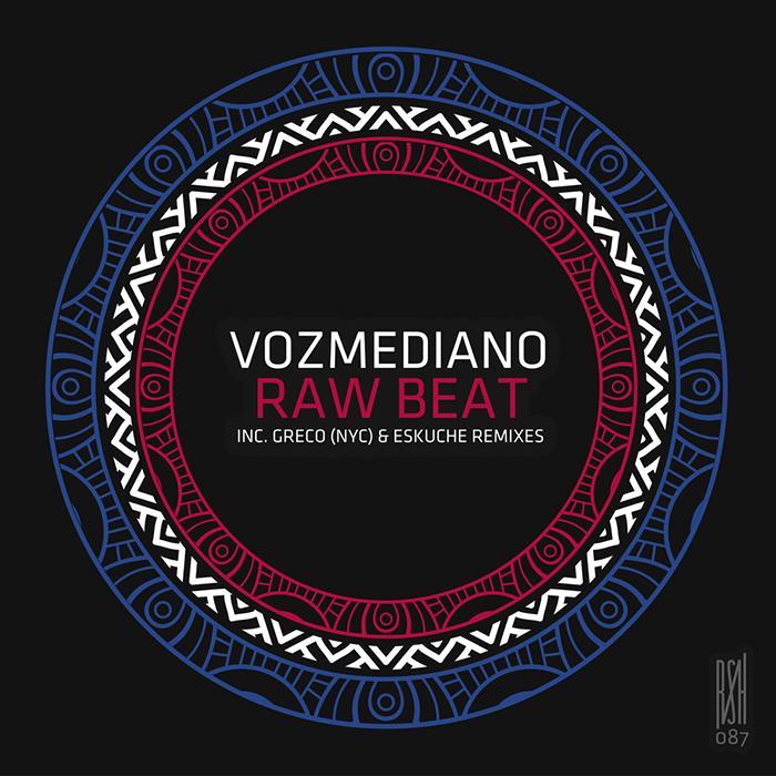 Vozmediano - Raw Beat EP cover