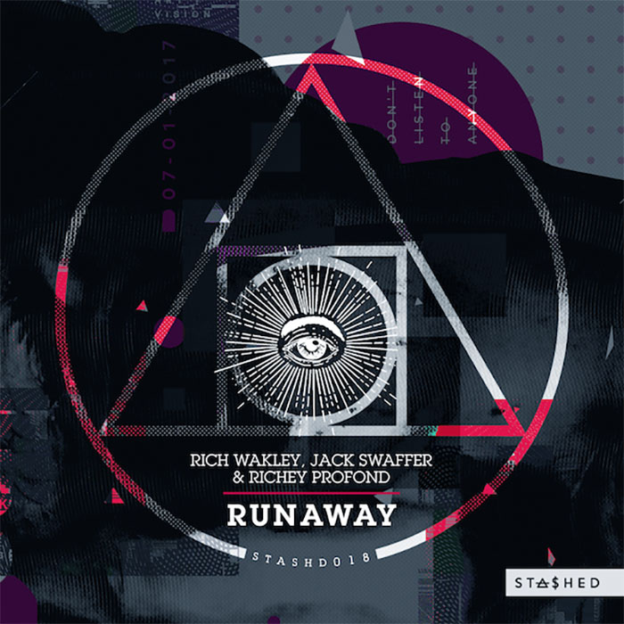 Rich Wakley, Jack Swaffer & Richey Profond - Runaway cover