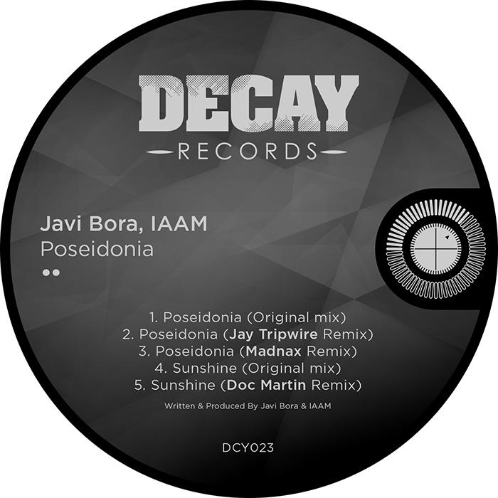 Javi Bora & IAMM - Poseidonia EP cover
