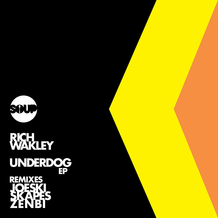 Rich Wakley - Underdog EP cover