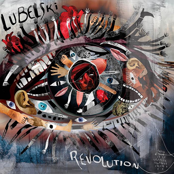 Lubelski - Revolution EP (Incl. Alex Arnout Remix) cover