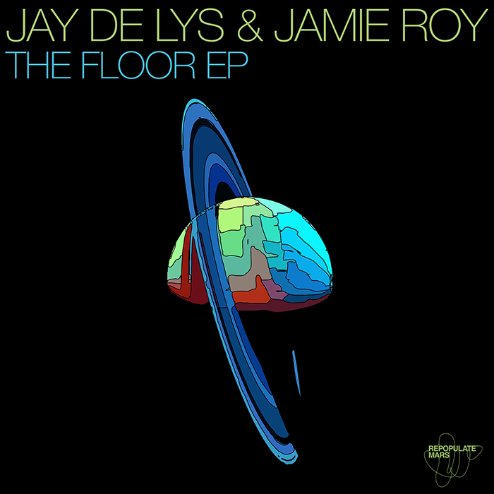 Jay de Lys & Jamie Roy - The Floor EP cover