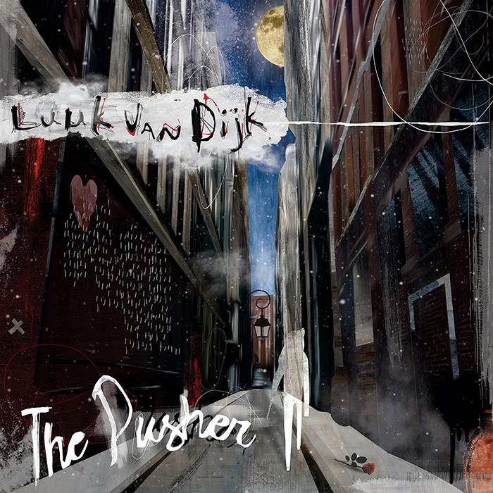 Luuk Van Dijk - The Pusher EP cover
