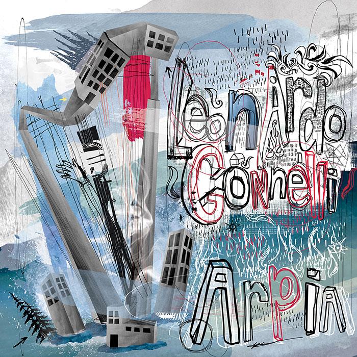 Leonardo Gonnelli - Arpia EP (Incl. James Dexter Remix) cover