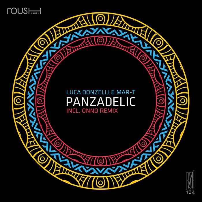 Luca Donzelli & Mar-T - Panzadelic EP cover
