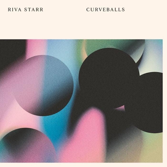 Riva Starr - Curveballs cover