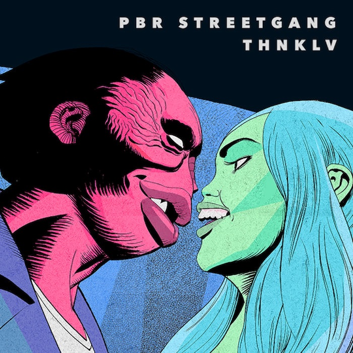 PBR Streetgang - THNKLV cover