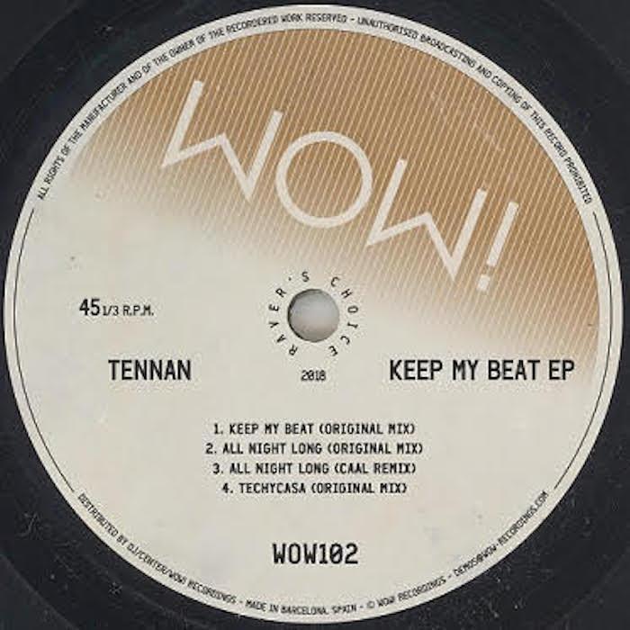 Tennan - Keep My Beat (inc CAAL remix) cover