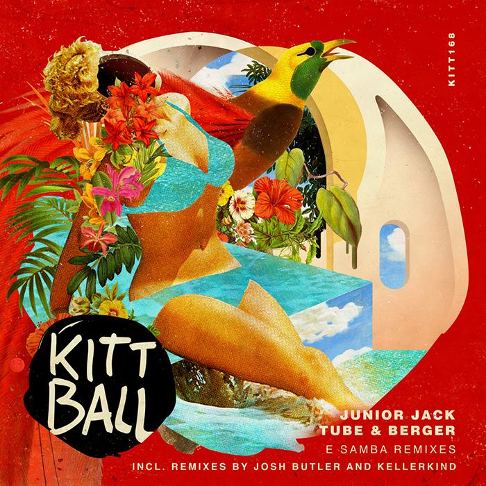 Junior Jack and Tube & Berger - E Samba (Josh Butler and Kellerkind Remixes) cover