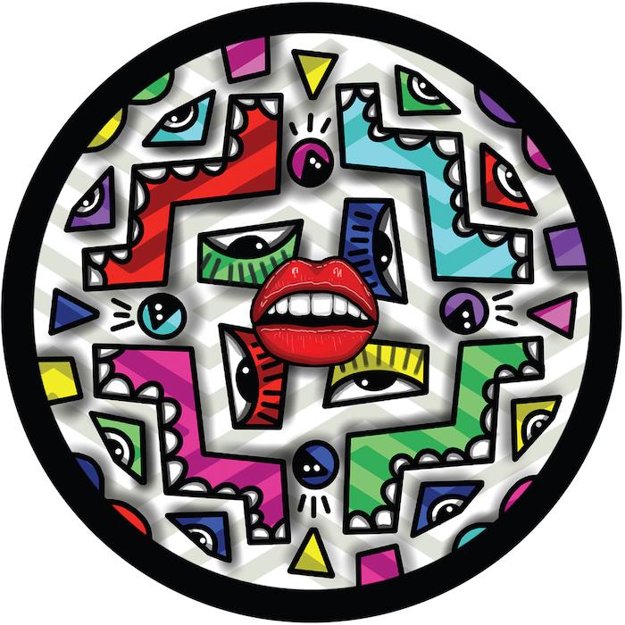 DJ Sneak & Jesse Perez feat. KE - Back & Forth (inc Remixes Ricardo Villalobos and DJ Lukke) cover