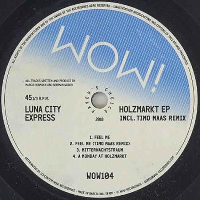 Luna City Express - Holzmarkt EP cover